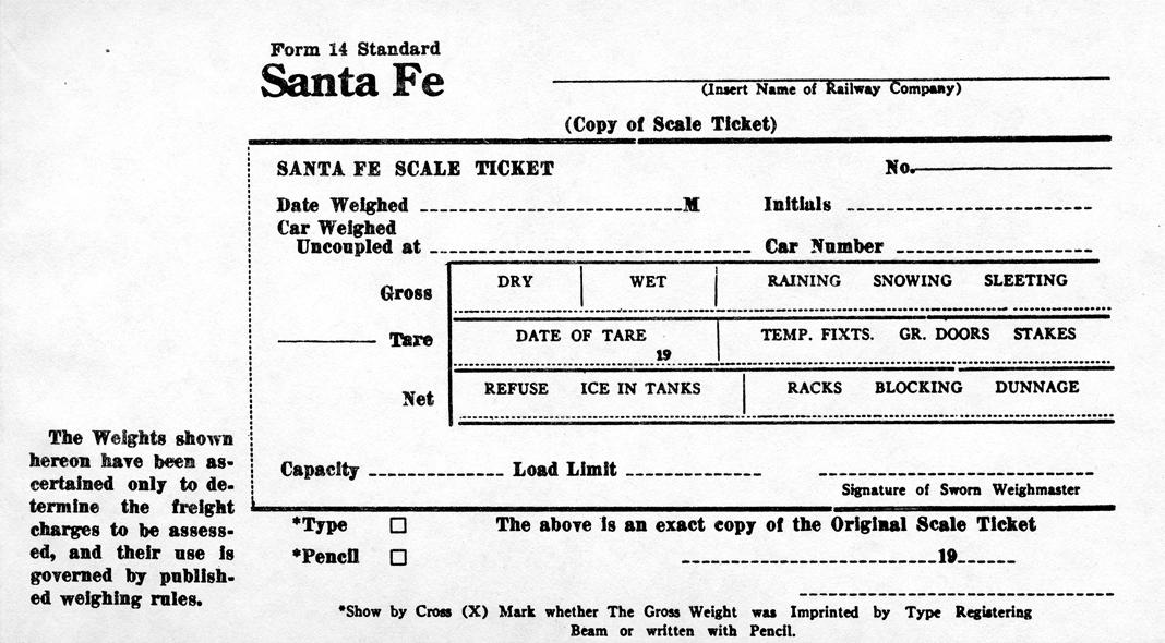 Santa Fe Railway Historical Modeling Society Home