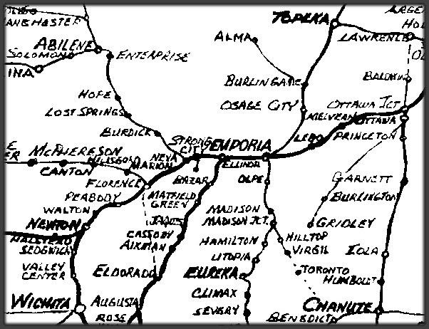 Emporia Kansas Santa Fe Railway